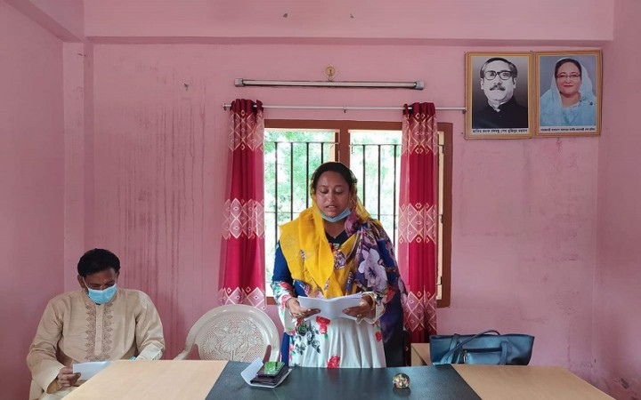 গোপালপুরে নারী ইউপি সদস্যকে নিয়ে অপপ্রচার বন্ধের দাবী