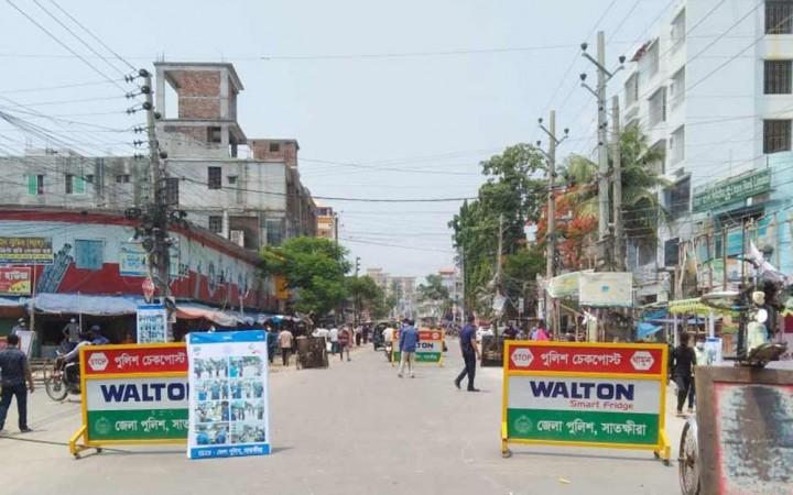 কোভিড: ঢাকাকে বিচ্ছিন্ন করতে চারপাশের সাত জেলা আগামীকাল থেকে লকডাউন