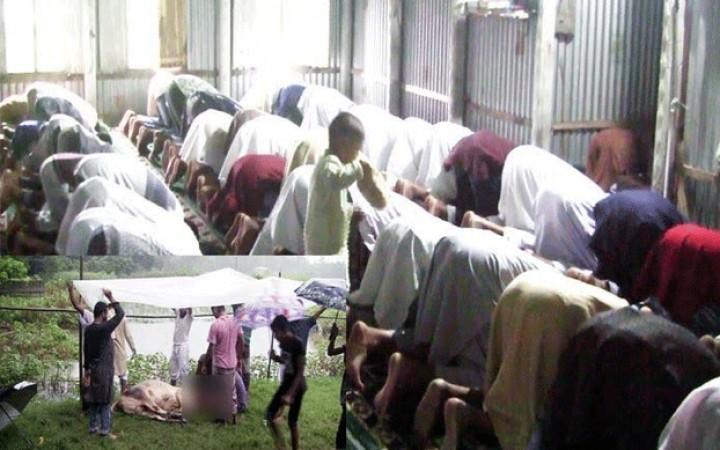 দেলদুয়ারে ৪০ পরিবারের ঈদ উদযাপন