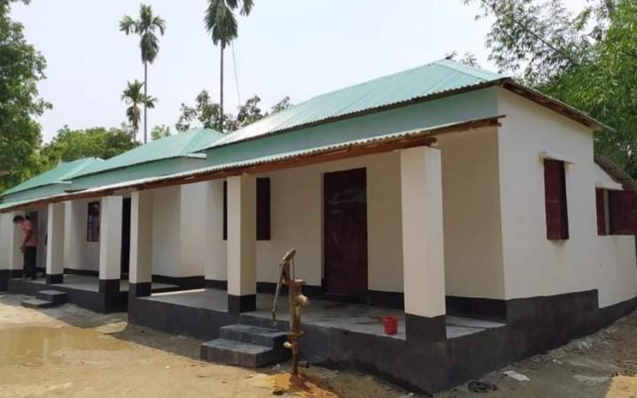 গোপালপুরে আশ্রয়ন প্রকল্প: ক্ষুদ্র নৃ-গোষ্ঠির অন্ত্যজদের নিরাপদ বসবাস