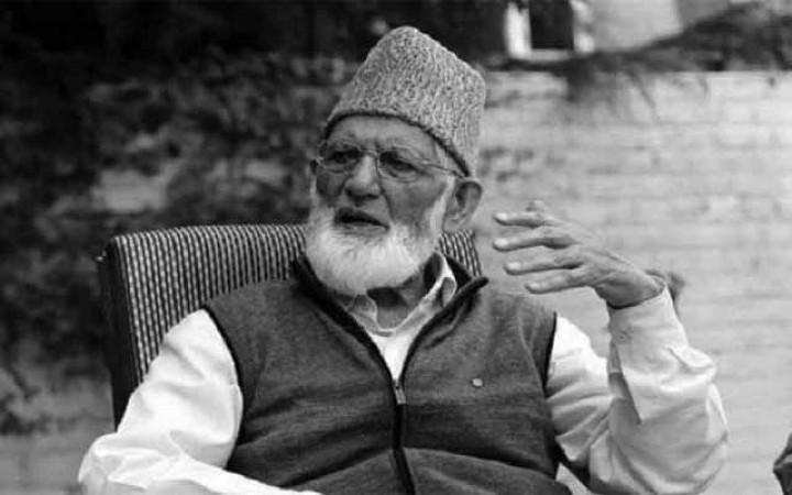 কাশ্মীরের স্বাধীনতাকামী নেতা সৈয়দ আলি গিলানির মৃত্যু