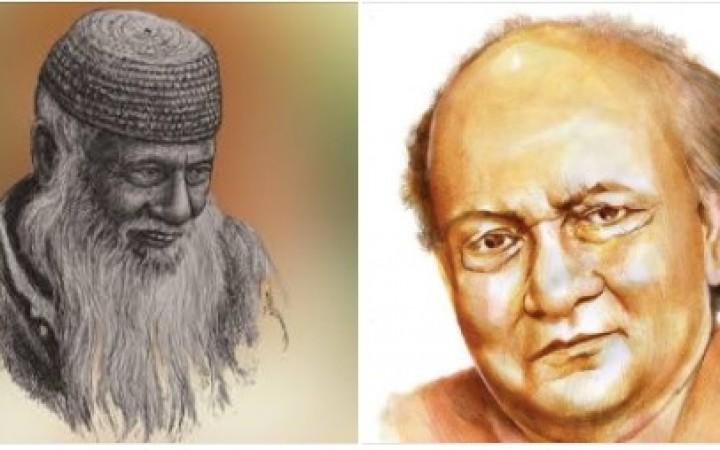 মওলানা ভাসানী ও সৈয়দ মুজতবা আলী