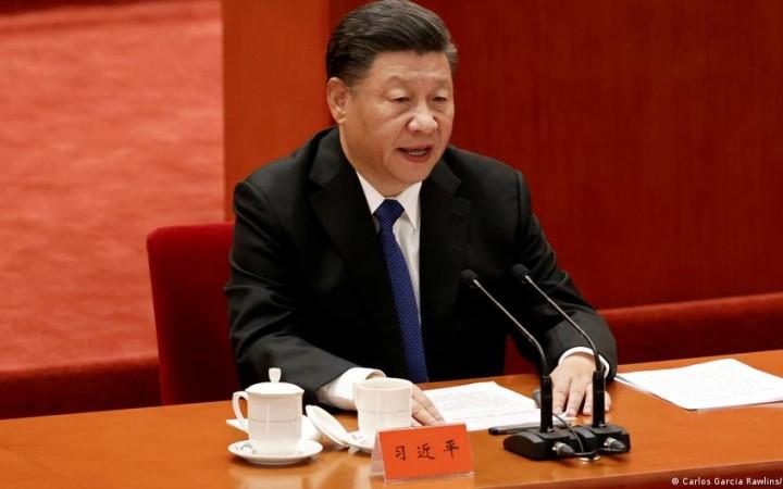 তাইওয়ানকে চীনের সঙ্গে 'একত্রিত করার' ঘোষণা শি জিনপিংয়ের